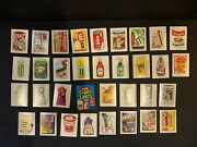 1979 Fleer Crazy Labels Stickers Wacky Packages Complete Set + Wrapper 64/64 Nm