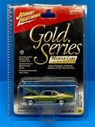 Johnny Lightning Gold Series Muscle Cars Le 1970 Chevy Nova Ss - Green