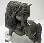 Cheval Pony Comical Collectible Thelwell Like Horse Figurine Cheval Collection