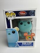 Funko Pop Disney Store 04 Sulley Flocked Sdcc 2011 Exc. 480 Le W/hard Stack