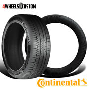 2 X New Continental Contipremiumcontact 6 275/40r21xl Tires