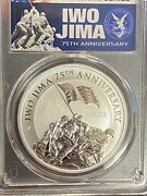 2020-p 1 Iwo Jima 75th Anniversary Pcgs. Ms 70 First Day 0f Issue