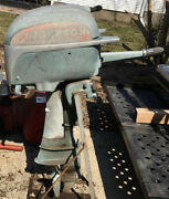 Vintage Johnson Seahorse Outboard Boat Motor Sd20 16 Hp 1949-50 Good Compression