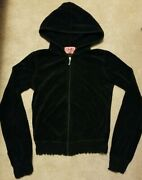 Juicy Couture Black Terry Cloth Tracksuit Petite