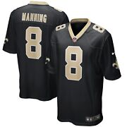 New Orleans Saints Archie Manning 8 Nike Menand039s Nfl Game Retired Player Jersey