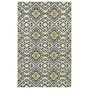 Kaleen Rugs Nomad Square Area Rug, Charcoal, 8' Sqr - Nom05-38-88sq