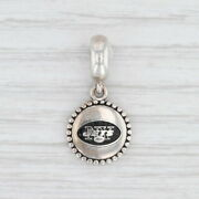 New Authentic Pandora New York Jets Nfl Dangle Sterling Silver Usb791169-g122