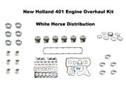 Engine Overhaul Kit Std Fits New Holland Tw30 Tractor With 401 Engine