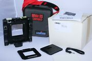 Cambo Wide Rs1000 Medium Format Digital Camera Body With Phase One Plate, Case.