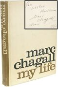 Marc Chagall My Life - First Edition - Inscribed Presentation Copy - 1960