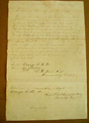 Civil War Tennessee Confederate Discharge Certificate Orange Court House