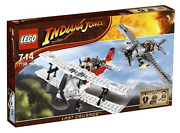 Lego Indiana Jones 7198–fighter Plane Attack In Sealed Box