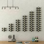Creative Wall Mount Iron Wine Holder Or Racks For Household Christmas Decoration