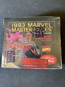 1993 Marvel Masterpieces Trading Cards Factory Sealed Box New 36 Packs