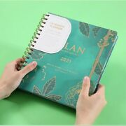 Planner Organizer Diary Notebook And Journal Spiral Daily Notepad Plan Rings Off