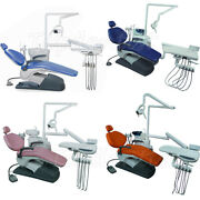 4 Types Dental Surgery Unit Chair Computer Controlled Automaticlly Hard Leather