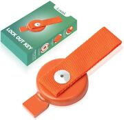 1 Pack Lock Out Key Compatible With Ufp Surge Brake Trailer Orange