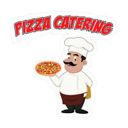Food Truck Decals Pizza Catering Concession Die-cut Vinyl Sticker