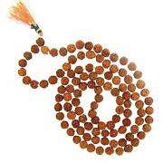 Rudraksha Mala 100 Natural And Certified For Men And Women Chanting Mantra Mala For