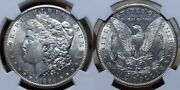 1884 S Morgan Silver Dollar 1 Ngc Au 58 Exceptional Example