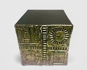 Exceptional Designer Adrian Pearsall Mid Century Brutalist Cube Or Side Table