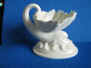 Royal Worcester Dolphin Holding Shell Open Salt Bowl On Base Of Waves, C1959