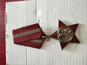 Albania Medal , Red Star Order's First Class, Class I, First Generate