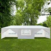 10and039x30 And039party Canopy Tent Outdoor Weather Repellent Sun Shade Easy Up 8 Walls