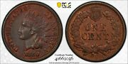1880 1c Indian Head Cent Pcgs Xf Detail Cleaned