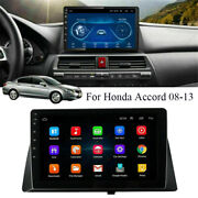 10.1 Android 9.1 Car Stereo Radio Player Wifi Gps For Honda Accord 08-13