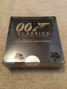 Factory Sealed Box Of 2016 James Bond Classics Trading Cards - From Rittenhouse
