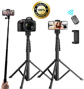 Universal 62-inch Selfie Stick Tripod Stand For Cell Phone With Bluetooth Remote
