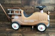 Vintage Radio Flyer Ride-on Fire Engine No 9 Local Pickup Only Nj 08731