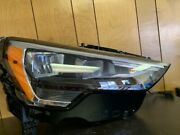 2020 Audi Q3 Passenger Side Led Headlight Complete With Out Self Leveling