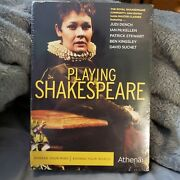 Playing Shakespeare Dvd, 2009, 4-disc Set Royal Shakespeare Co Factory Sealed