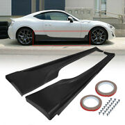 For 2013-2021 Scion Frs Subaru Brz Gt86 Ft86 A Style Black Side Skirts Body Kit