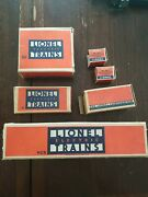 Vintage Early Lionel O Gauge Empty Boxes. Lot Of 7. 167, 752-92ea, 41, Rcs