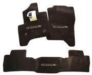 Gmc Sierra Denali Floor Mats Crew And Double Cab 2500 3500 3pc Cocoa Brown Instock