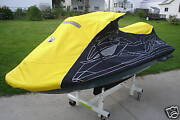 Sea Doo Rxt Is Cover 2009 Yellow And Black With Dealer Logo New Oem