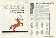 1945 Chase Brass And Copper Roofing And Products Lead Coated Sheets Catalog Centaur