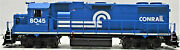 Athearn Genesis 68199 Gp38-2 Conrail 8045 White Frame W/sound And Leds Ho Scale