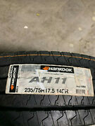 2 New 235 75 17.5 Lrg 14 Ply Hankook Ah11 Commercial Tires