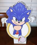 24 Sonic Hedge Hog Standee Party Prop Decorations
