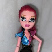 Monster High Gigi Grant 13 Wishes Genie Doll Pink Textured Skin And Scorpion