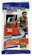 2020-21 Panini Donruss Basketball Fat Pack 30 Cards Factory Sealed 👀🔥🏀