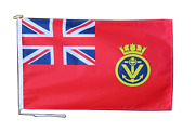 Maritime Volunteer Service Ensign Uk Flag With Rope And Toggle - Various Sizes