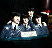 The Beatles Fab Four Figurine Figure Used Slightly Scratched And Dirty 738/ak