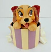 Wdcc A Perfectly Beautiful Little Lady From Lady And The Tramp W/box And Coa 49