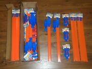 Giant Hot Wheels Track Lot 48 2and039 Straight Track 12 Loop To Loops 12 Launchers
