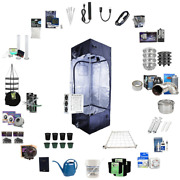 Black Dog Led 2.4and039 X 2.4and039 X 6.5and039 Complete Led Grow Kit